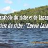 La prière du riche : « Envoie Lazare » / Pierre Desroches (286e)
