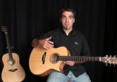 5e présentation de Michel Pellerin : 2 de ses guitares