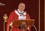 L'entrée de Jésus à Jérusalem / Pape François