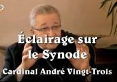 Retour très éclairant sur le Synode / Cardinal André Vingt-Trois