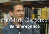 Rabbin devenu catholique (2e vidéo) / Jean-Marie Élie Setbon