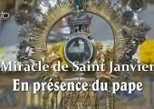 Le miracle de Saint Janvier en présence du pape François (178e)