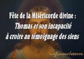 Thomas et l'incapacité à croire / Pierre Desroches (368e)