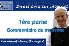 Medjugorje – Message du 25 octobre 2020 / Emmanuel Maillard