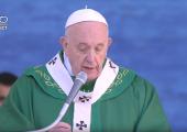 Pape François / 23 février 2020 – Prédication à 23m05