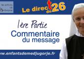 Medjugorje – Message du 25 janvier 2021 / Emmanuel Maillard