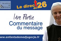 Medjugorje – Message du 25 août 2021 / Emmanuel Maillard